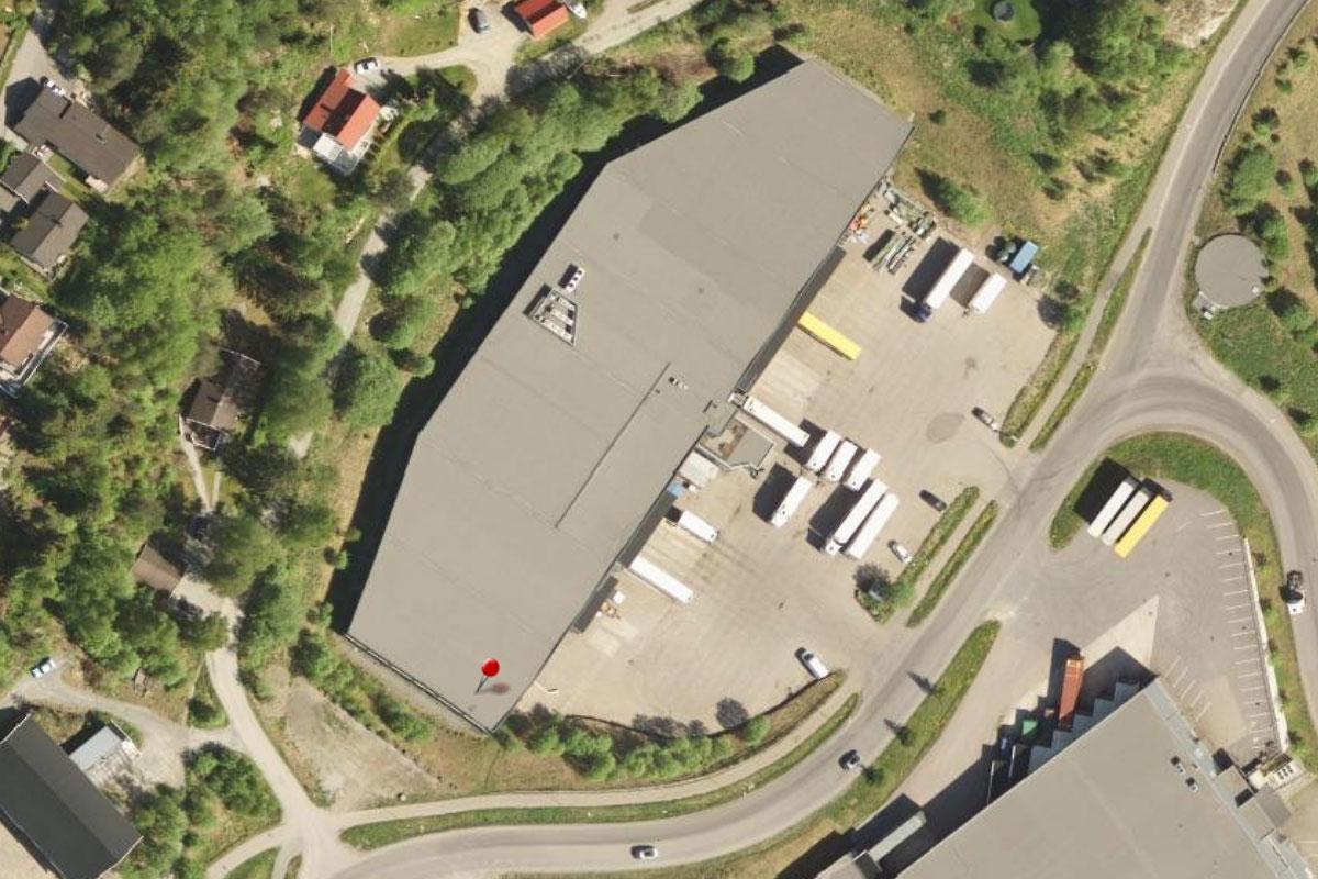 Ny sorteringsterminal på Frogner i Oslo.